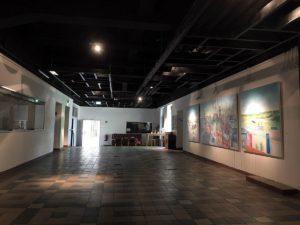 Durchgang zur Lohnhalle