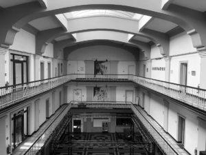 Innenraum der Lohnhalle